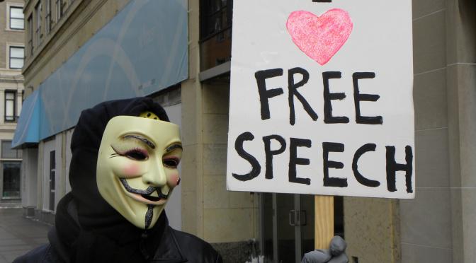 Le dogme de la liberté d'expression